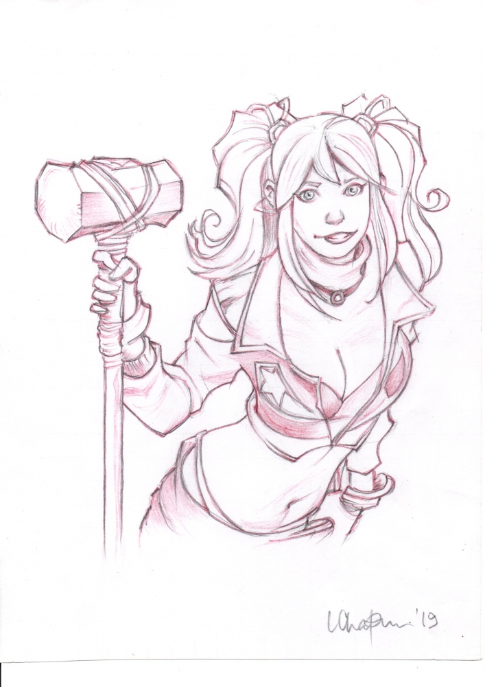 Harley Quinn by TinkerTailor